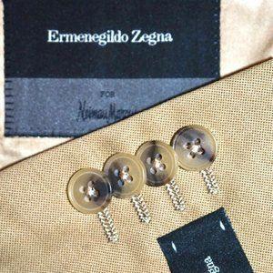 $1995 48L Ermenegildo Zegna Tan Sport Coat Blazer